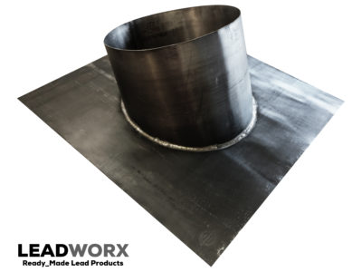 Large pitched roof lead slate 360mm