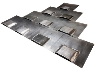 Lead Bat Roof Access Tiles